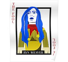 Ryn Weaver - The Fool Playing Card Poster