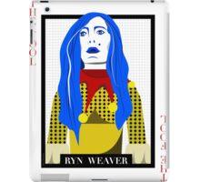 Ryn Weaver - The Fool Playing Card iPad Case/Skin