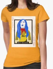 Ryn Weaver - The Fool Playing Card Womens Fitted T-Shirt