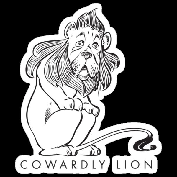 The Wonderful Wizard of OZ - Cowardly Lion by David Tribby