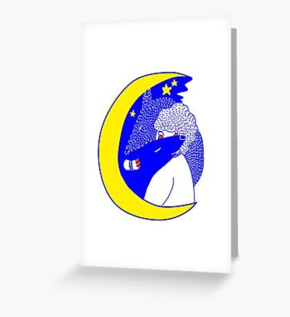 wolfstar (primary) Greeting Card