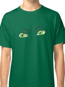 Cartoon Green Eyes Classic T-Shirt