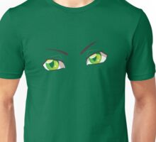 Cartoon Green Eyes Unisex T-Shirt