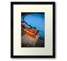 Chair Study 1 Framed Print