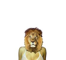 Girl ocean bikini summer sexy hot fresh lion version 3 by dopenation