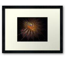 'Space Station Spiral' Framed Print