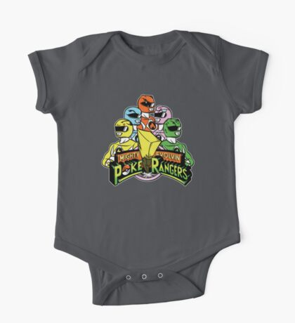 PokeRangers One Piece - Short Sleeve