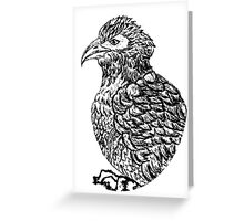 Eagle Sketch 2 Greeting Card