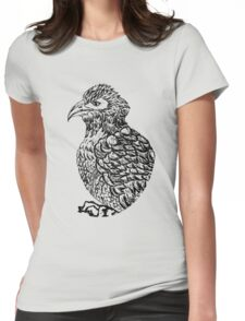 Eagle Sketch 2 Womens Fitted T-Shirt