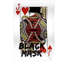 Black mask. Poster