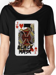 Black mask. Women's Relaxed Fit T-Shirt