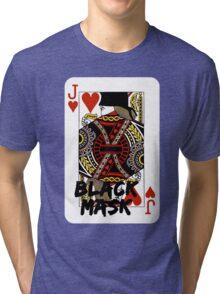 Black mask. Tri-blend T-Shirt
