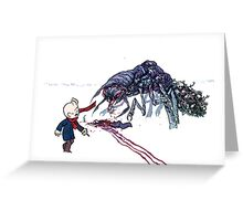 "Broodhollow- ""The Angleworm""  Greeting Card"