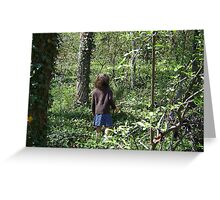 Forest Intrigue  Greeting Card