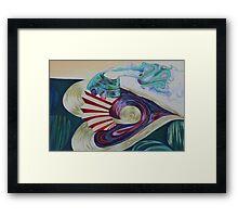 Accordion House Framed Print