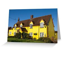 The Chequers Inn Keysoe Greeting Card