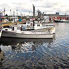 Fish Boat on Dock by terrebo