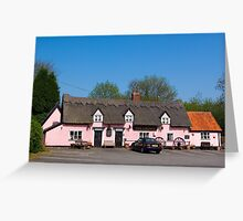 The Crown Pub Stowupland, Suffolk Greeting Card