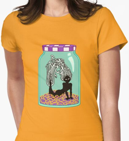 Mermaid in a Jar Womens Fitted T-Shirt