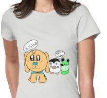 Dozer, Pengu, Fallafel Womens Fitted T-Shirt