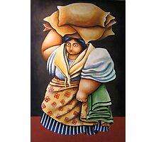 BABAE SA PIER (WOMAN AT THE PIER) Photographic Print
