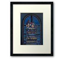 Castle Book Framed Print