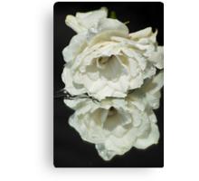 Gardenia Reflected Canvas Print