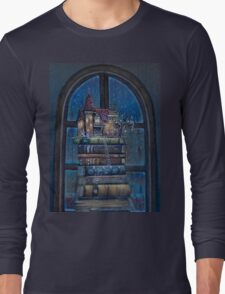 Castle Book Long Sleeve T-Shirt