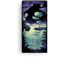 Saturday Night Frogs Canvas Print