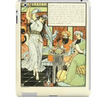 The Forty Thieves by Walter Crane 1898 19 - Ali Baba's Son iPad Case/Skin