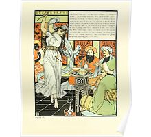 The Forty Thieves by Walter Crane 1898 19 - Ali Baba's Son Poster