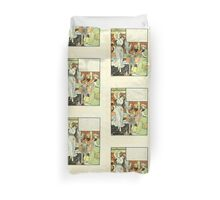 The Forty Thieves by Walter Crane 1898 19 - Ali Baba's Son Duvet Cover