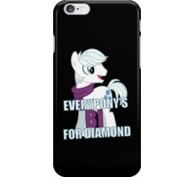 Everypony's Bi For Diamond iPhone Case/Skin
