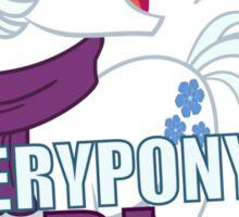 Everypony's Bi For Diamond Sticker