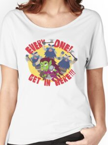 "Hearthstone - ""EVERYONE, GET IN HERE!"" Women's Relaxed Fit T-Shirt"