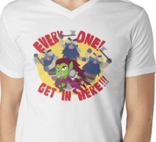 "Hearthstone - ""EVERYONE, GET IN HERE!"" Mens V-Neck T-Shirt"