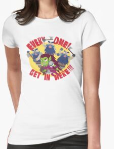 "Hearthstone - ""EVERYONE, GET IN HERE!"" Womens Fitted T-Shirt"