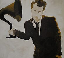 Mr Tom Waits by Ryan Harvey