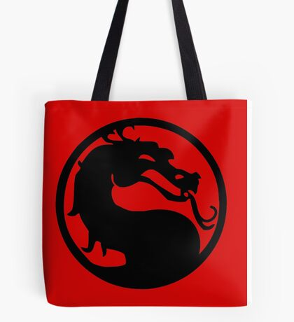 Mortal Dragon Tote Bag