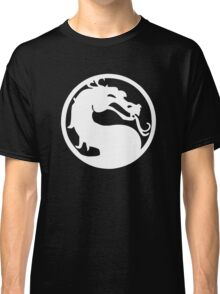 Mortal Dragon (White) Classic T-Shirt