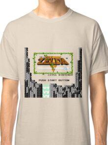 Legend of Zelda: Start Screen Classic T-Shirt