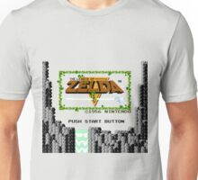 Legend of Zelda: Start Screen Unisex T-Shirt