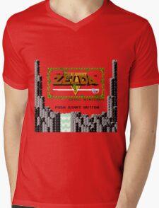 Legend of Zelda: Start Screen Mens V-Neck T-Shirt