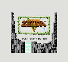Legend of Zelda: Start Screen Unisex T-Shirt