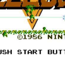 Legend of Zelda: Start Screen Sticker