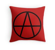 Anarchism Throw Pillow