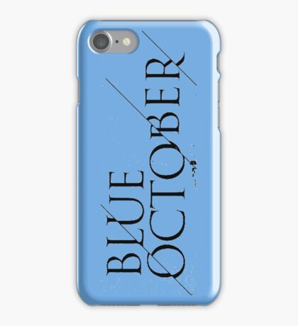Blue October Broken Mirror iPhone Case/Skin
