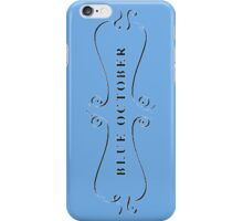 Blue October Gothic Swirl iPhone Case/Skin