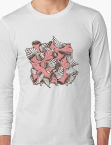 RED BIRDS Long Sleeve T-Shirt