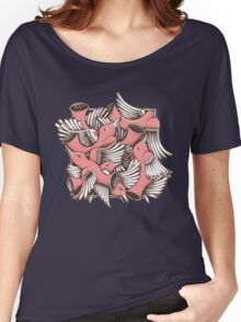 RED BIRDS Women's Relaxed Fit T-Shirt